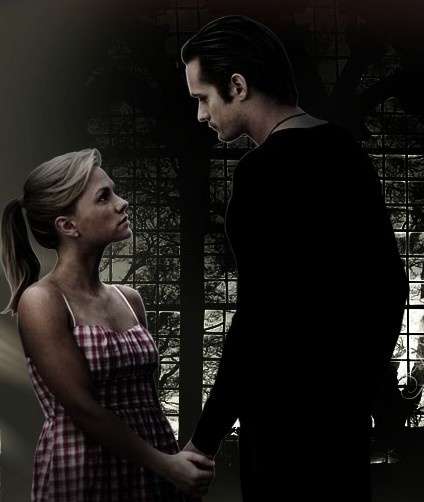 eric (sigh) and sookie from true blood