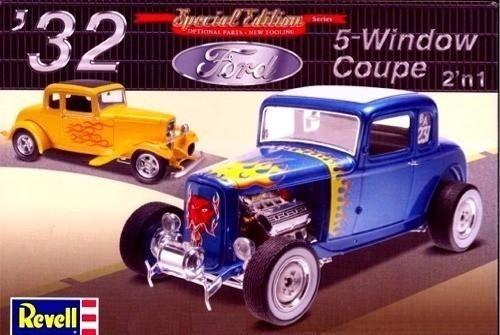 Revell 1932 Ford 5-Window Coupe 1/25 85-4228 Plastic Model Car Kit