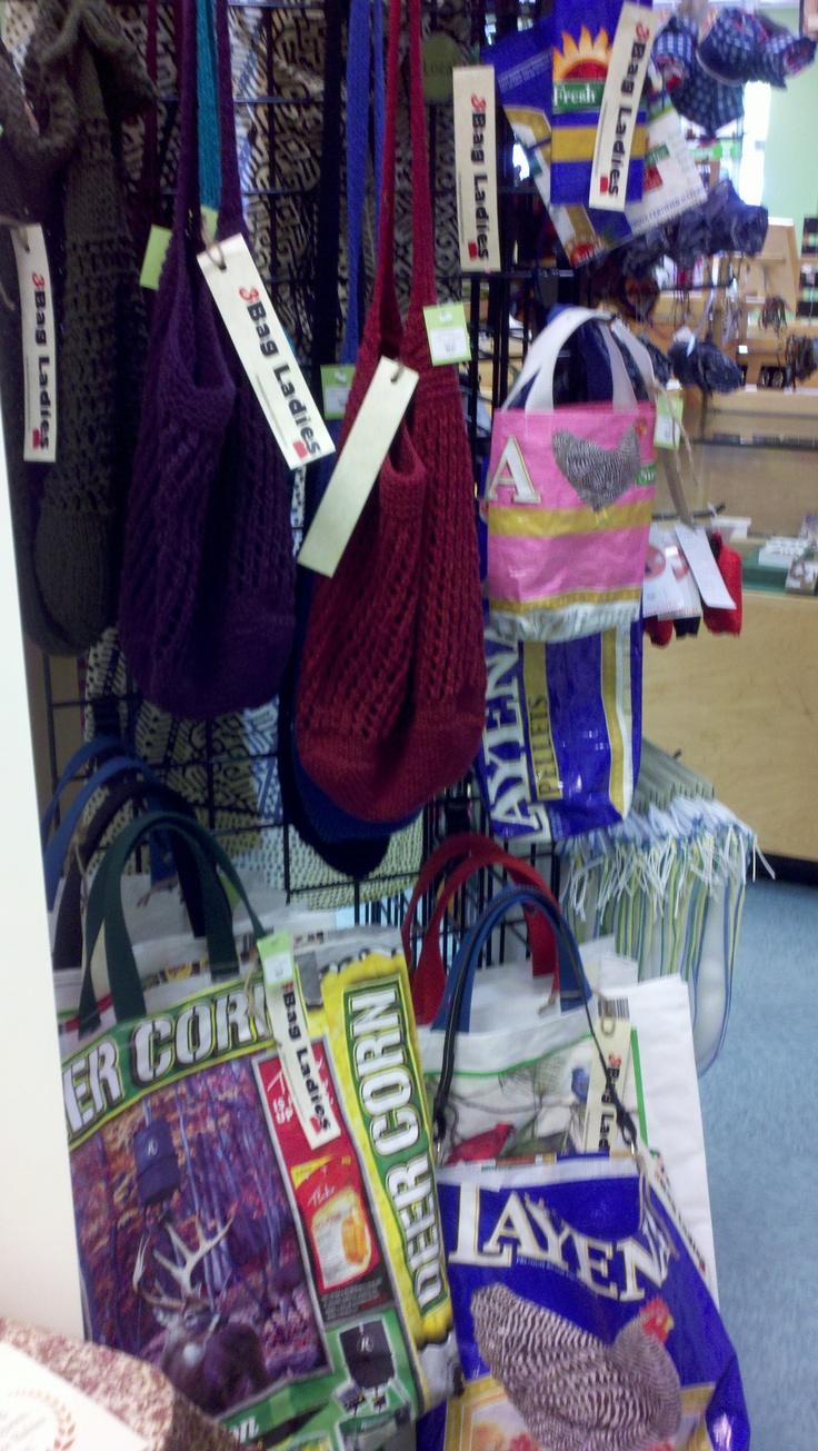 ThreeBagLadies bags @ Twig in Chapel Hill, NC (2012)