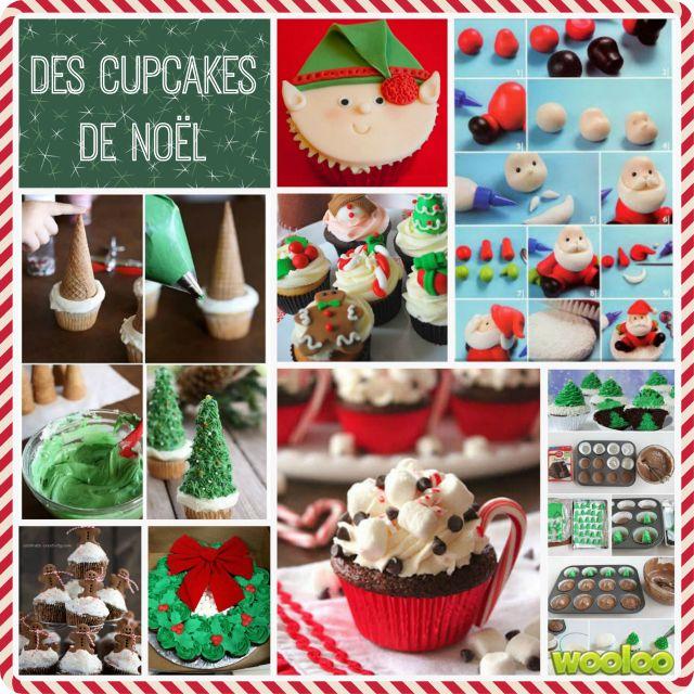 Une compilation des plus beaux cupcakes de noël