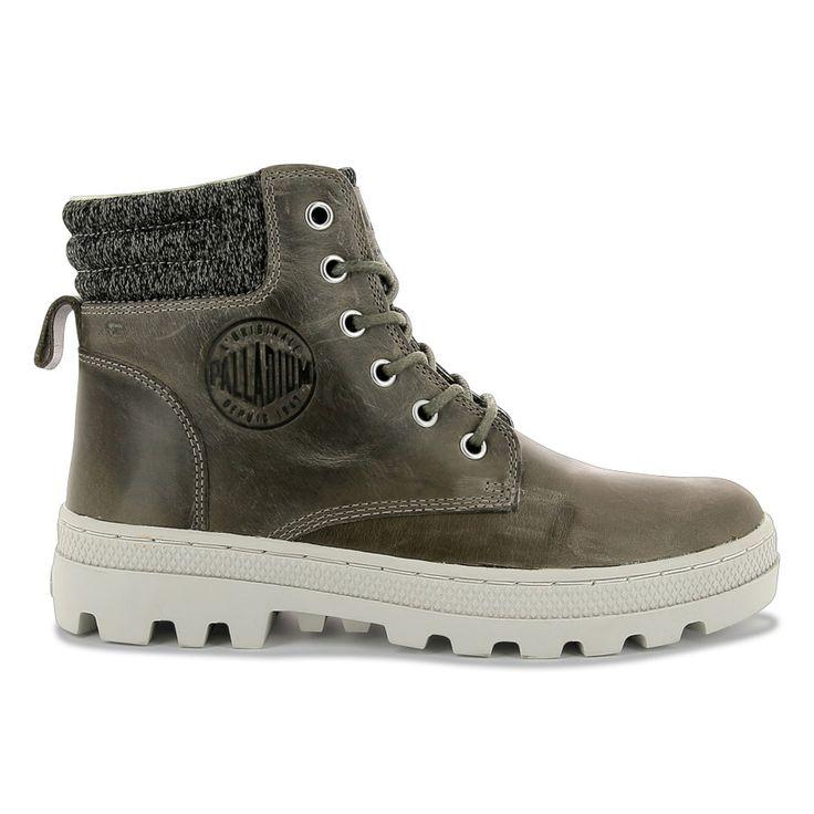 Blanc Hi, Sneakers Basses Mixte Adulte, Beige (Seneca Rock/White/White), 41 EUPalladium