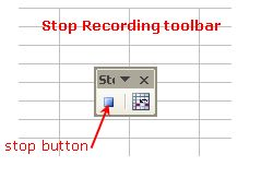 How to Use Macro Recorder to Create Simple Macros in Excel 2003: Excel Macro Recorder