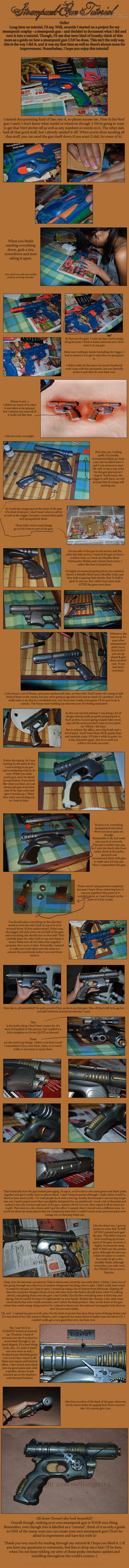 Tutorial para hacer una pistola tipo steampunk
