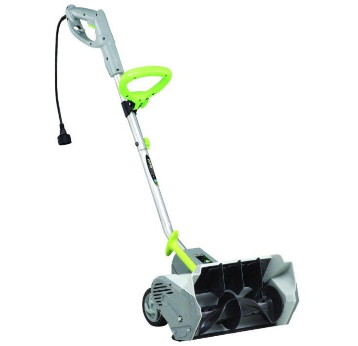 New Electric Snow Shovel 12 AMP Power Shovel With Wheels Snow Blower #EARTHWISE