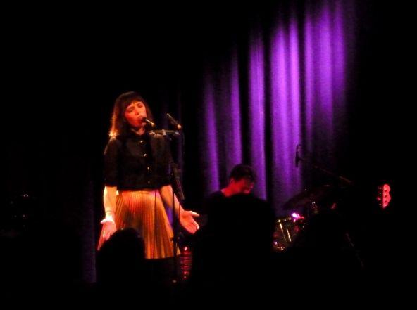 Sarah live im Stadtgarten/Köln (17.04.13)