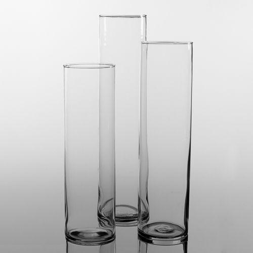 Eastland Tall Cylinder Vase Set of 18