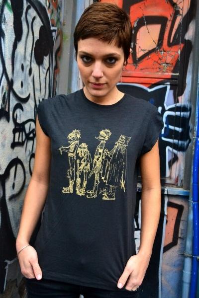 Custom T-shirt #Gorillaz!   Capelli