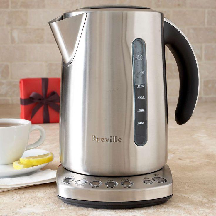 Breville® Variable-Temperature Electric Kettle | Sur La Table