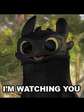 Photo of Toothless Bug Eyes for fans of How to Train Your Dragon. edited pic of toothless