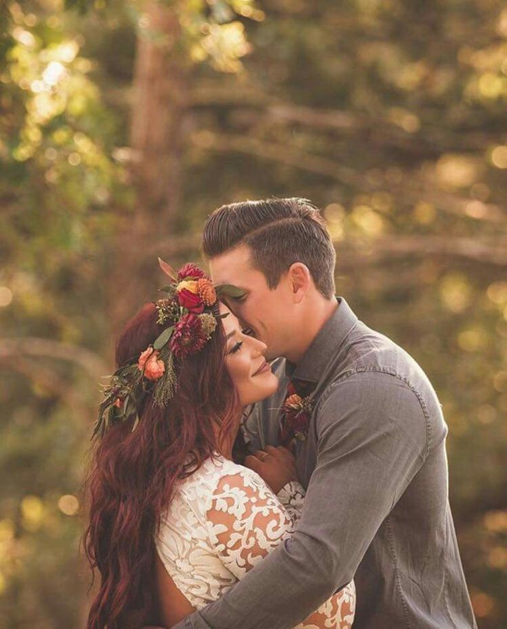 Flower crown - Marsala Fall Wedding!!!