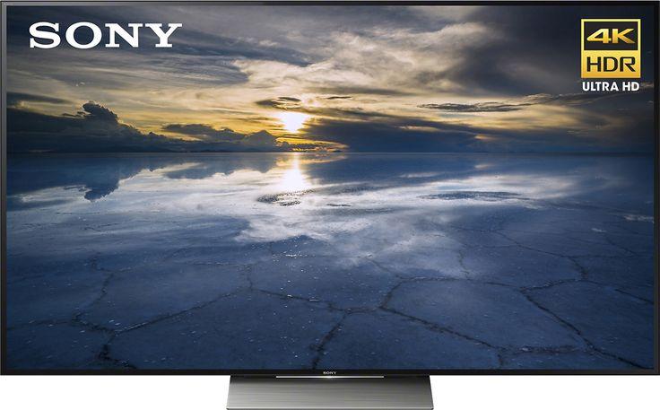 "Sony - 65"" Class (64.5"" diag) - LED - 2160p - Smart - 3D - 4K Ultra HD TV with High Dynamic Range - Black"