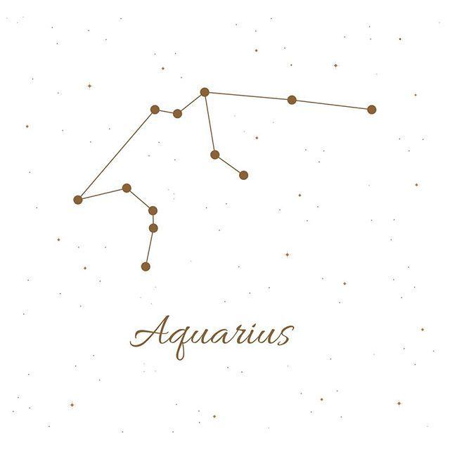 New Moon in Aquarius war schon vor zwei Tagen, aber ich dachte, ich teile die Aquariu …