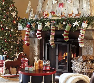 Love the stockings from Pottery Barn Kids but they are $34 each.  Ugh.  I have been looking everywhere for years for ones like these.