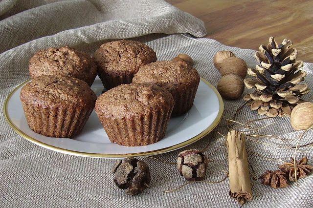 Mia's Glutenfreie Gaumenfreuden: Glutenfreie low-carb Lebkuchen-Muffins