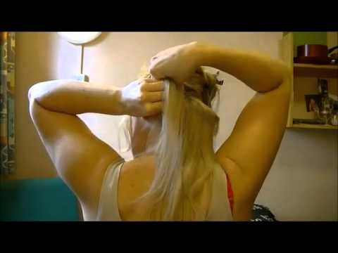 How To Apply Clip In Hair Extensions For Short Hair Tutorial | www.HairExtension…