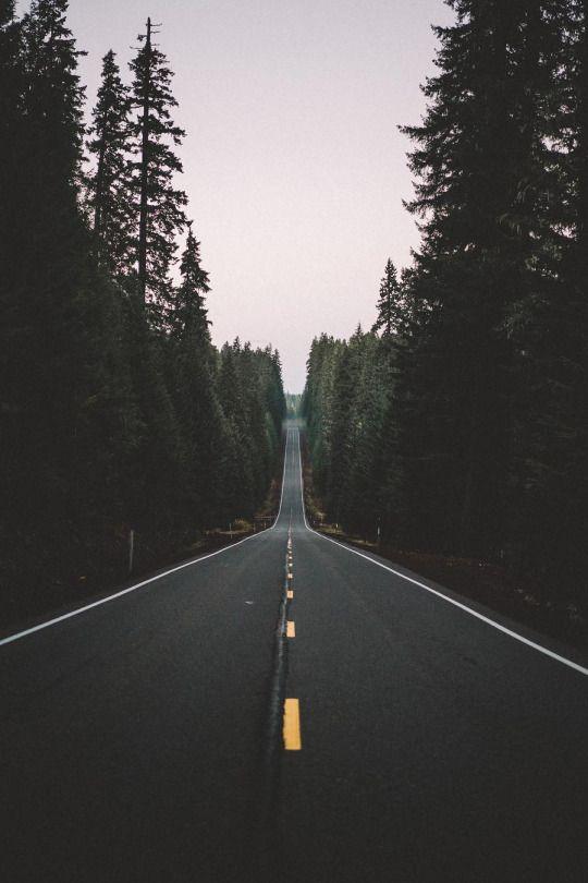 La route à l'infini...