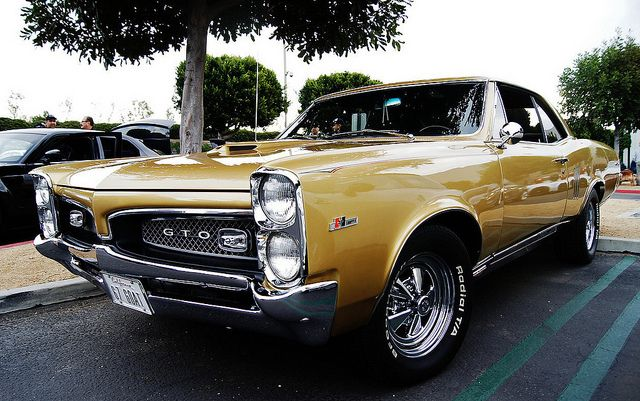 '67 Tiger Gold Hurst GTO. Awesome American Classic Muscle!