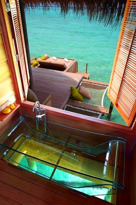 Four Seasons Hotel // Bora Bora.  | Hotel Liquidators liquidates, sells, removes, ships, and installs furniture to make your job easier for you!  Call Hotel Liquidators at (248) 918-4747 or visit our website www.hotelliquidator.net for more information!