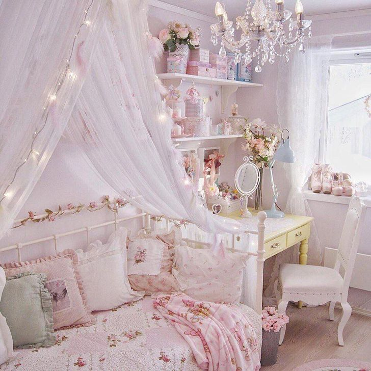 38 Lovely Pastel Room Decor Ideas For Beautiful Bedroom Girly Room Decor Pastel Room Pastel Bedroom Pastel bedroom ideas pinterest