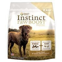 Nature's Variety Instinct Raw Boost Duck And Turkey Formula Canine 23.5 Lb