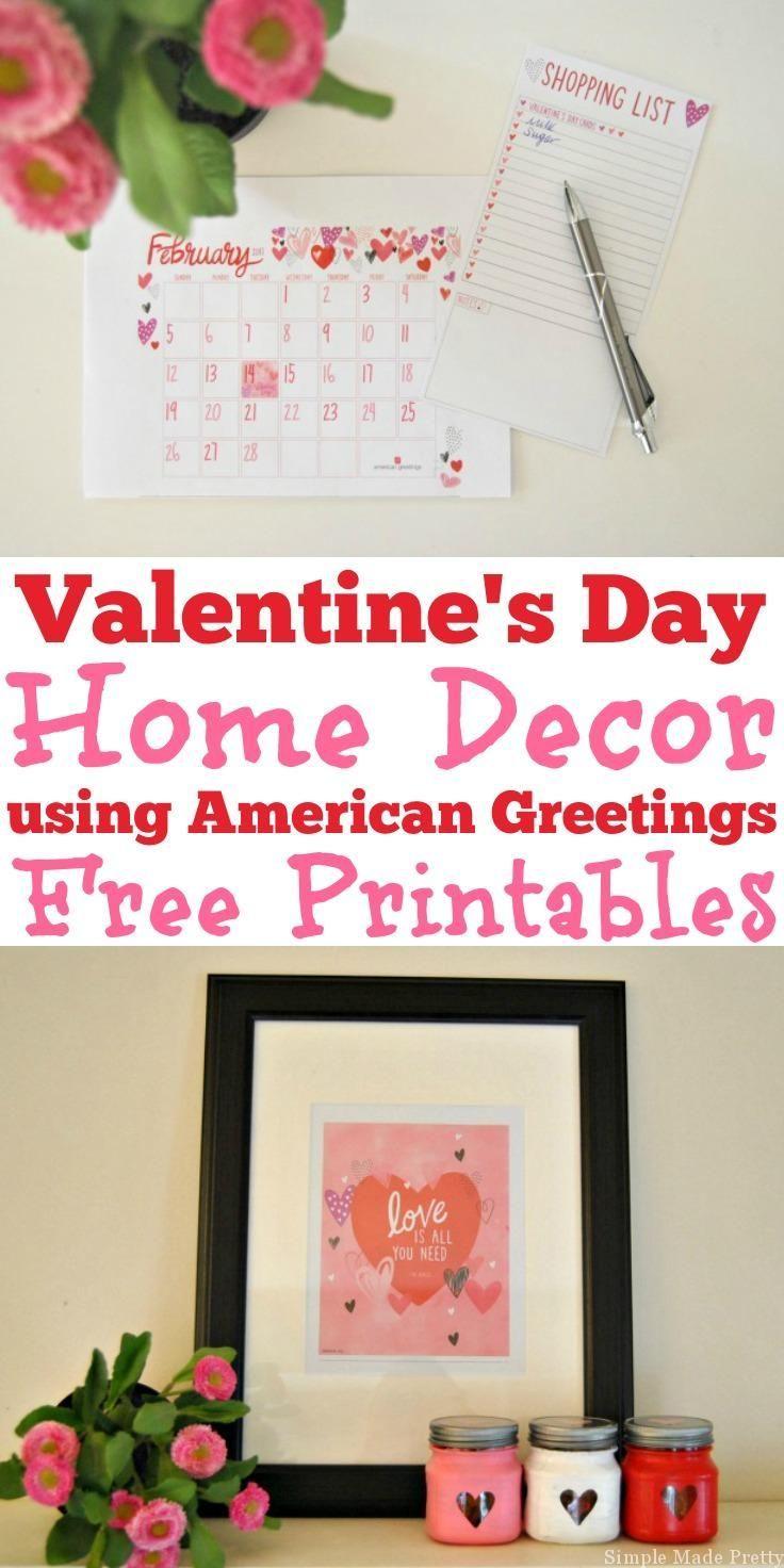 237 best free printables the best free printables on pinterest diy valentine treat jars using american greetings valentines day products kristyandbryce Gallery