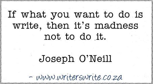 Quotable – Joseph O'Neill – Writers Write