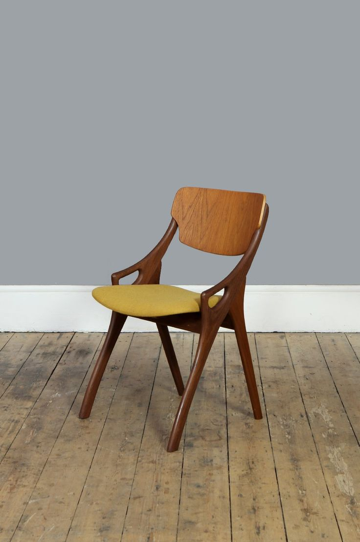 Mustard Occasional Chair by Arne Hovmand Olsen – Forest London
