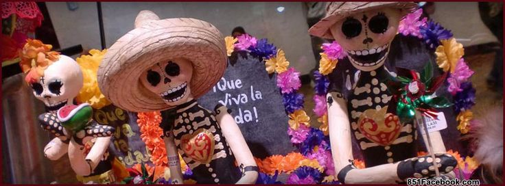 holidays international holidays mexico day of the dead skeletons and grave with…