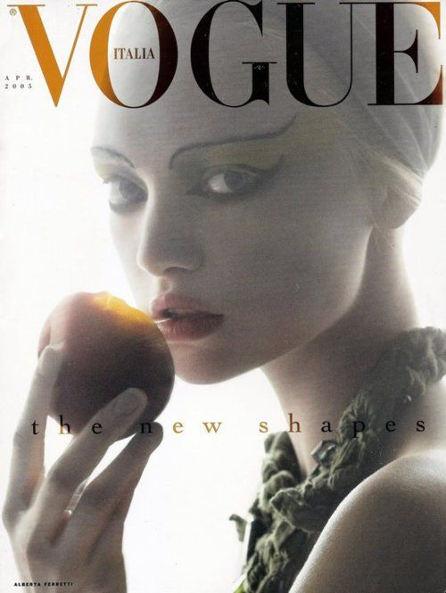 Steven Meisel  April 2005Vogue Italia.  Model: Gemma Ward.: Italian Vogue, Fashion Models, Steven Meisel, Gemmaward, Gemma Ward, Vogue Magazines, April 2005, Magazines Covers, Haute Couture