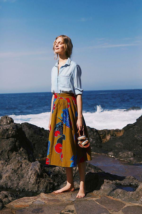 728716ef9ee656 Betta A-Line Skirt   Sew-Sew   A line skirts, Skirts, Summer skirts