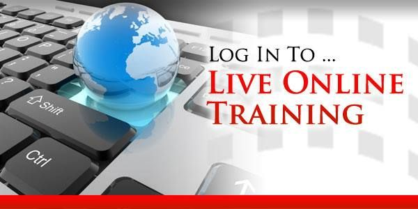 live online training...