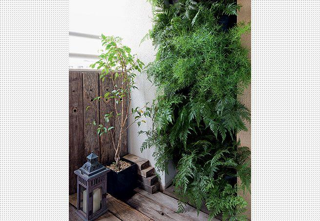 jardim vertical vasos meia lua : jardim vertical vasos meia lua: os vasos em formato de meia-lua para economizar ainda mais espaço
