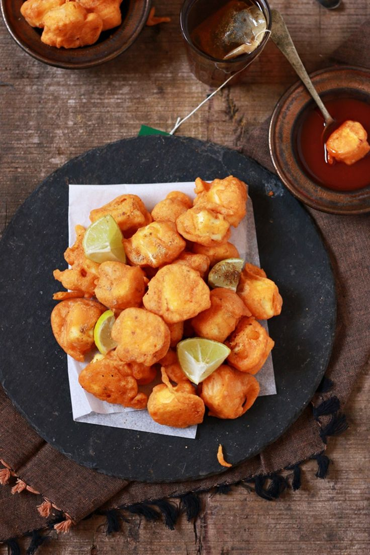 Paneer pakora recipe, how to make punjabi paneer pakoda