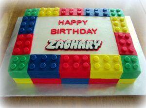 Simple Lego Cake Design : Top 25+ best Lego cake ideas on Pinterest Lego birthday ...