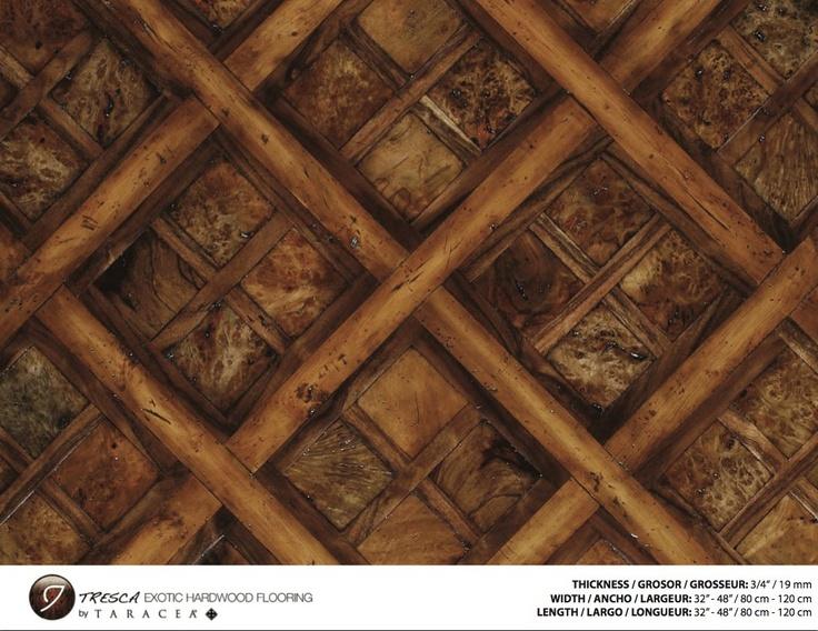 Exotic Hardwood Flooring flooring Castello Burltresca Exotic Hardwood Flooring By Taracea