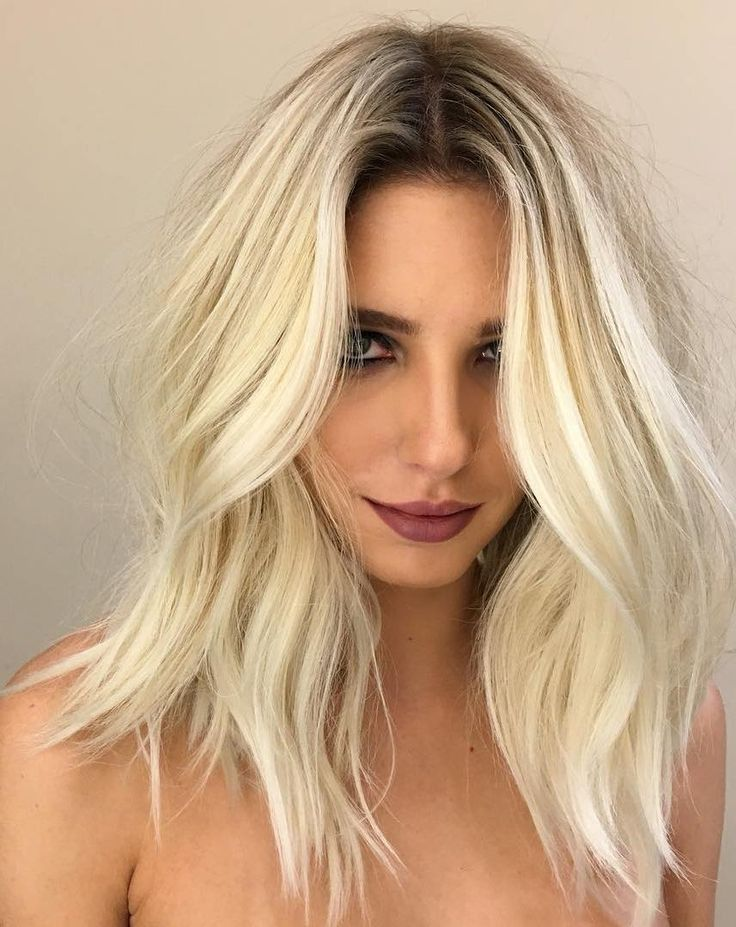 White Blonde Hair Color
