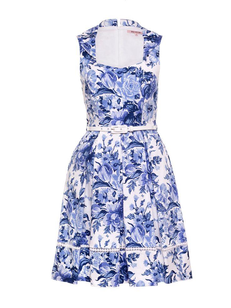 Jellicoe Dress | White And Multi | Dress