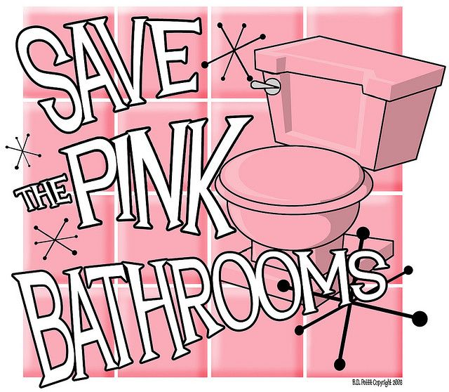 Pink Bathrooms 2 | Flickr - Photo Sharing!