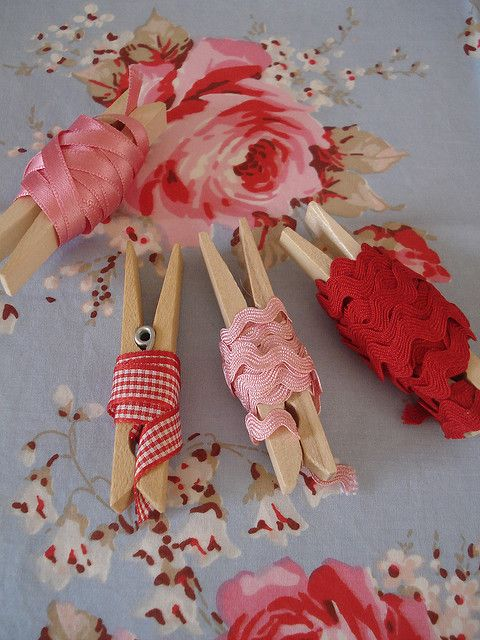 Clothespins to organize ribbons!  GREAT #scrapbook #storage #idea From your Oklahoma Scrap 'n Paradise Retreat at http://scrapnparadise.webs.com