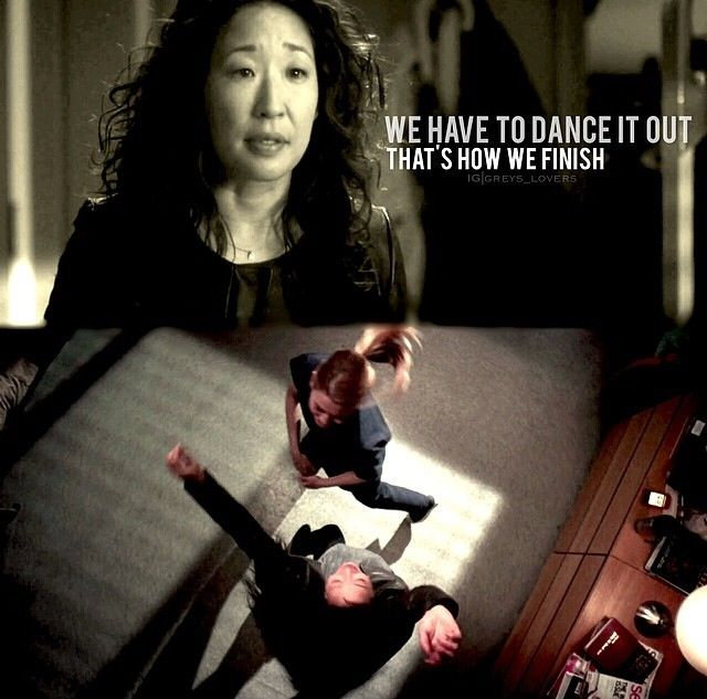 #greysanatomy I gotta go. You stay here. You are a gifted surgeon with an extraordinary mind. Don't let what he wants eclipse what you need. He's very dreamy, but he's not the sun. You are. Farewell to Cristina