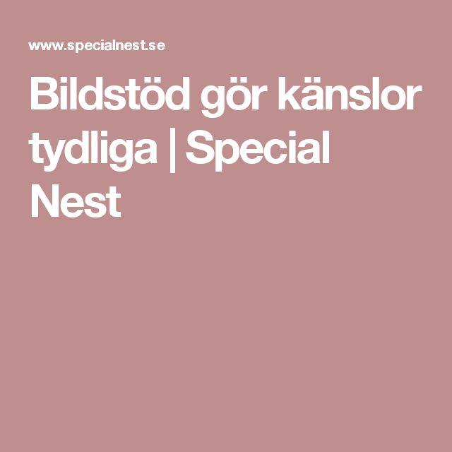 Bildstöd gör känslor tydliga | Special Nest