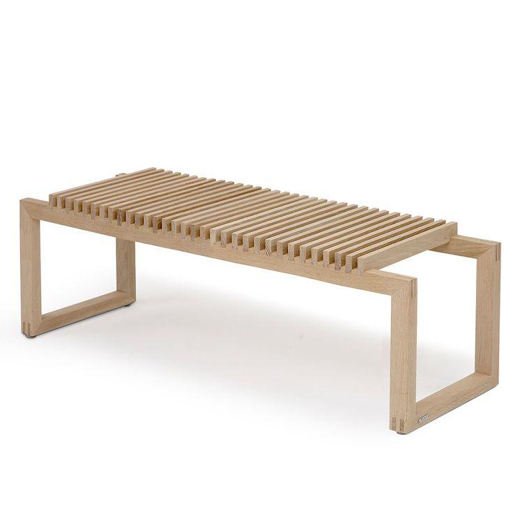 Cutter Bench 120, Oak - Skagerak - Skagerak - RoyalDesign.com #skagerak #bench #royaldesign
