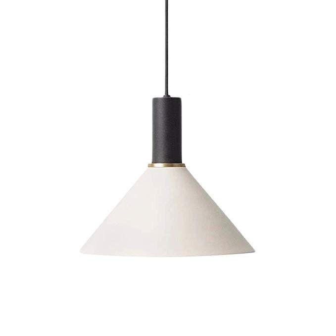 Frideko Metal Pendant Light Modern Industrial Colourful Aluminum Light Fitting For Loft Kitchen Living Room Black Amazon Com Lighting Light Fittings Lighting Loft Kitchen