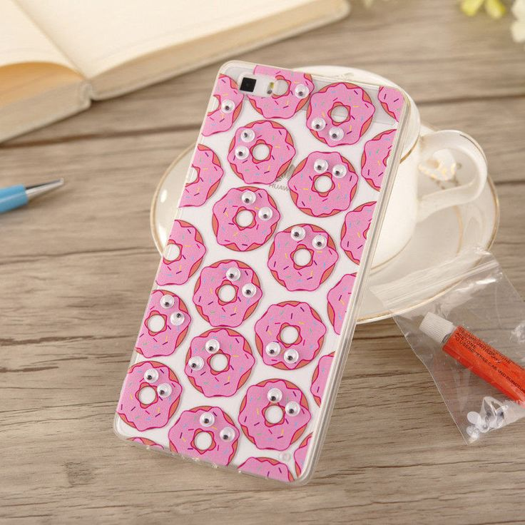 2016 3D Fruit Banana Food Fries Doughnut Fashion Fundas Case Cover For Huawei P8 / P9 Lite Case Series TPU Silicone Phone Cases