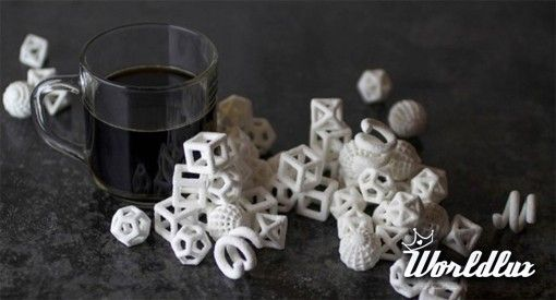 The Sugar Lab printed 3D sugar cube