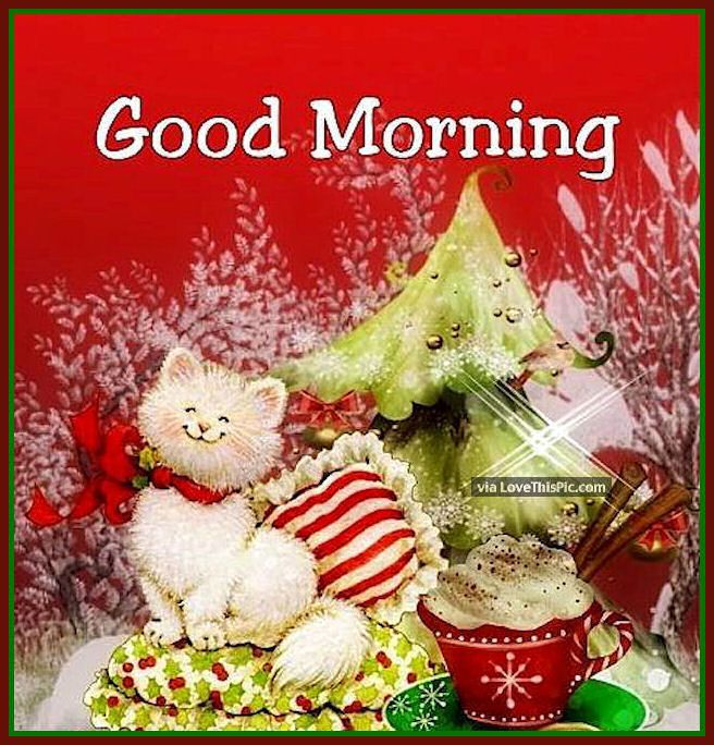Good morning quotes for christmas