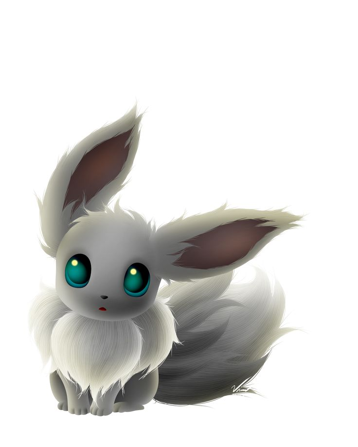 Shiny Eevee by SymbianL.deviantart.com on @DeviantArt