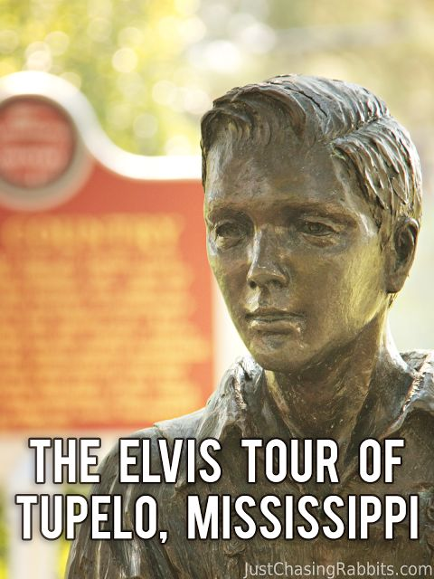 Taking the Elvis Tour of Tupelo, Mississippi