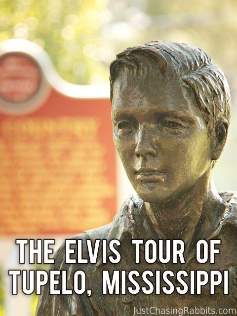 Taking the Elvis Tour of Tupelo, Mississippi