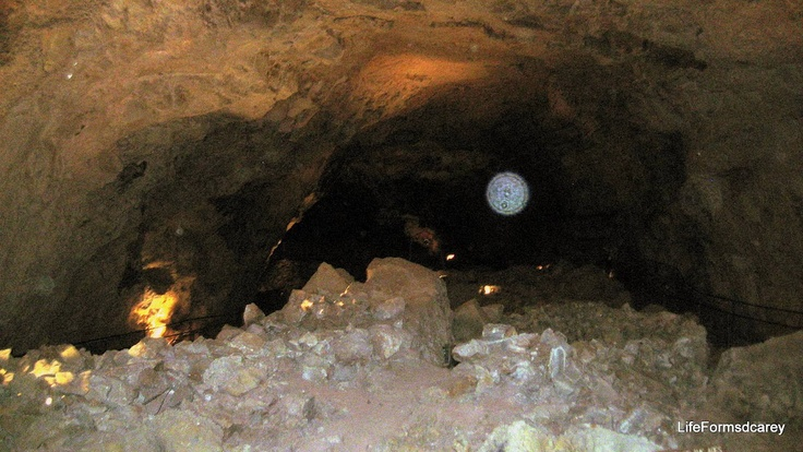 Cave along Rt 66,,, with Ghost Orb